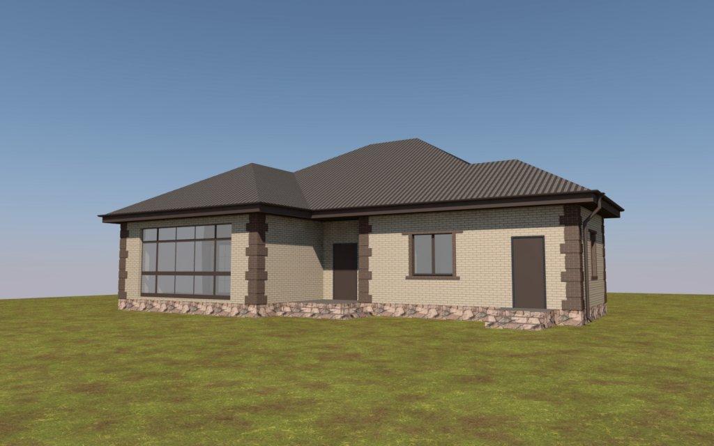 расчет стоимости строительства одноэтажного дома