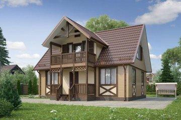 Проекты домов с площадью от 40 до 80 кв.м.