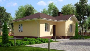 Проекты домов с площадью от 80 до 110 кв.м.