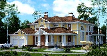 Проекты домов с площадью от 200 кв.м.