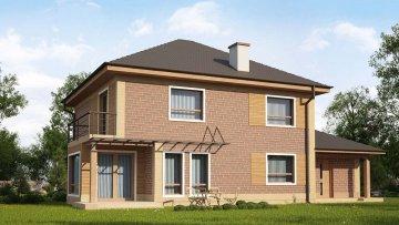 Проекты домов с площадью от 150 до 200 кв.м.
