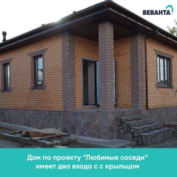 Одноэтажный дом в Ембаево под Тюменью