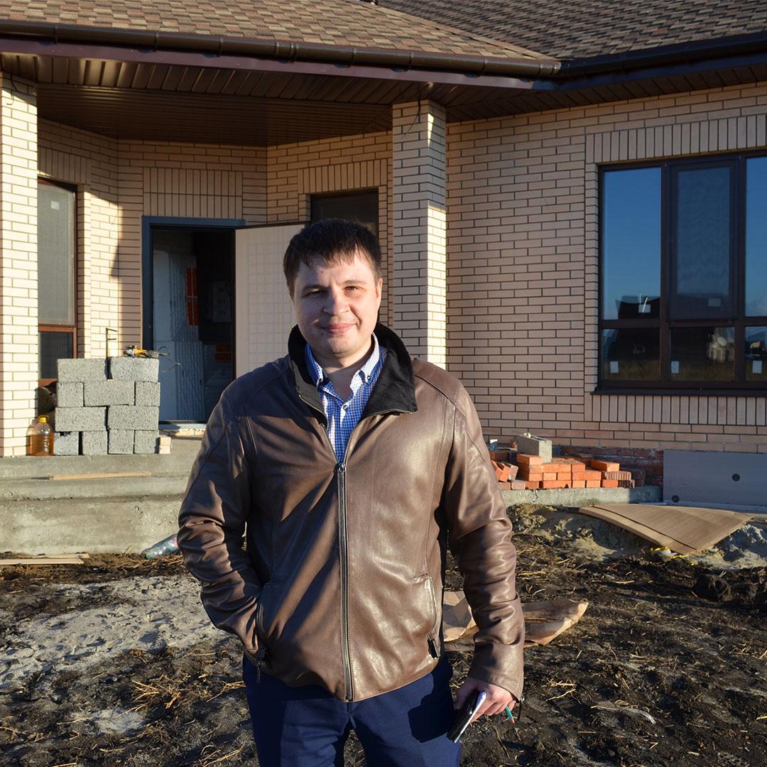 Отзыв о строительстве дома Олега