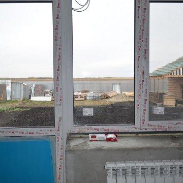 В доме качественные окна