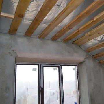 """Мансардный этаж в доме по проекту """"Сирень"""""""
