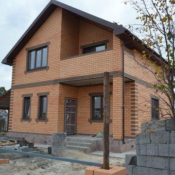 Общая площадь дома 122м2