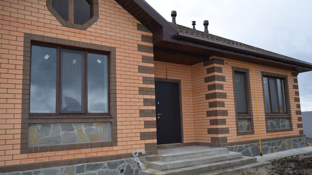 Дом по проекту Елена сдан под ключ
