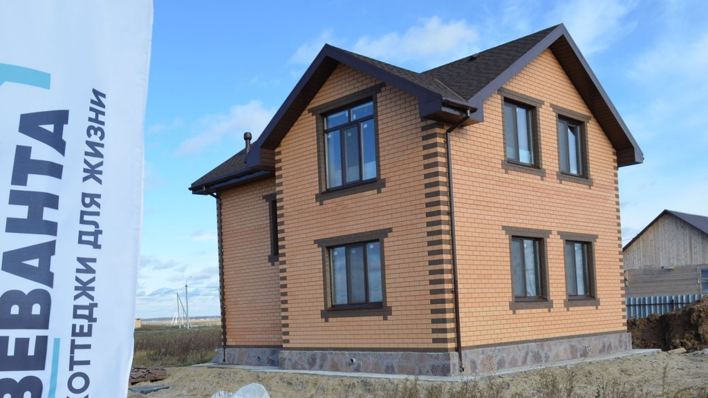 Дом построен по проекту Анжелика Веванта