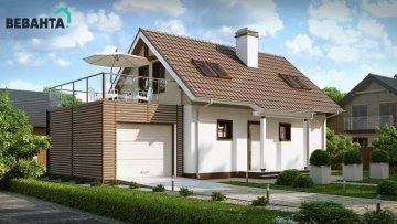 Проекты домов с площадью от 110 до 150 кв.м.