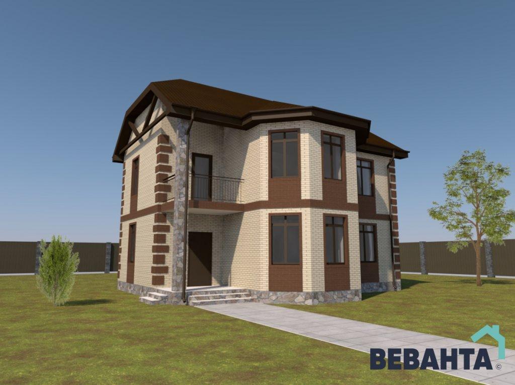 проекты домов с площадью от 200 кв.м. в Тюмени
