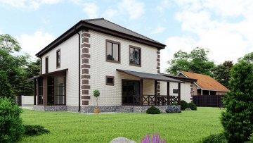 проект дома от Веванта Усадьба Лебедевых