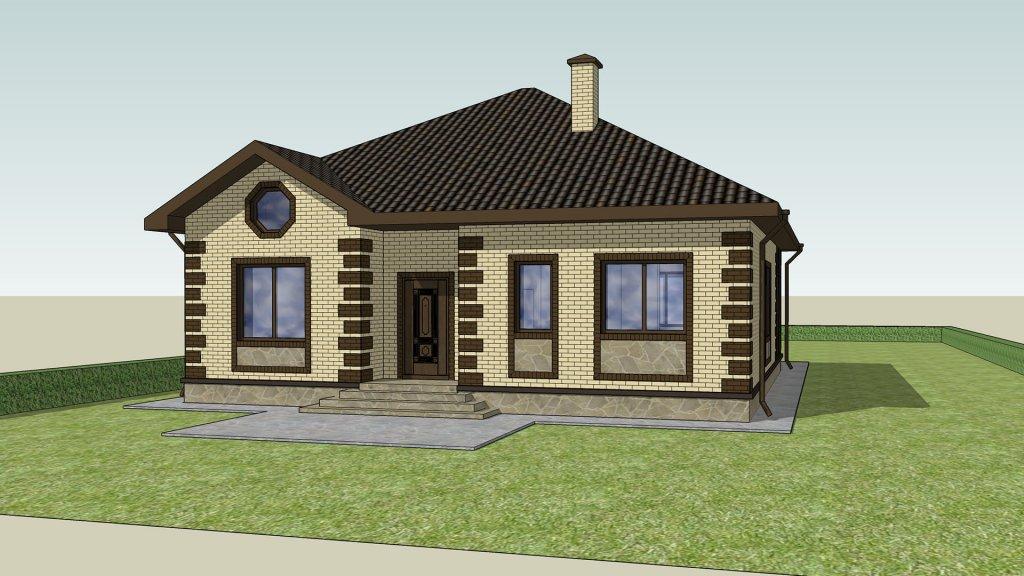 Проект дома Елена от Веванта