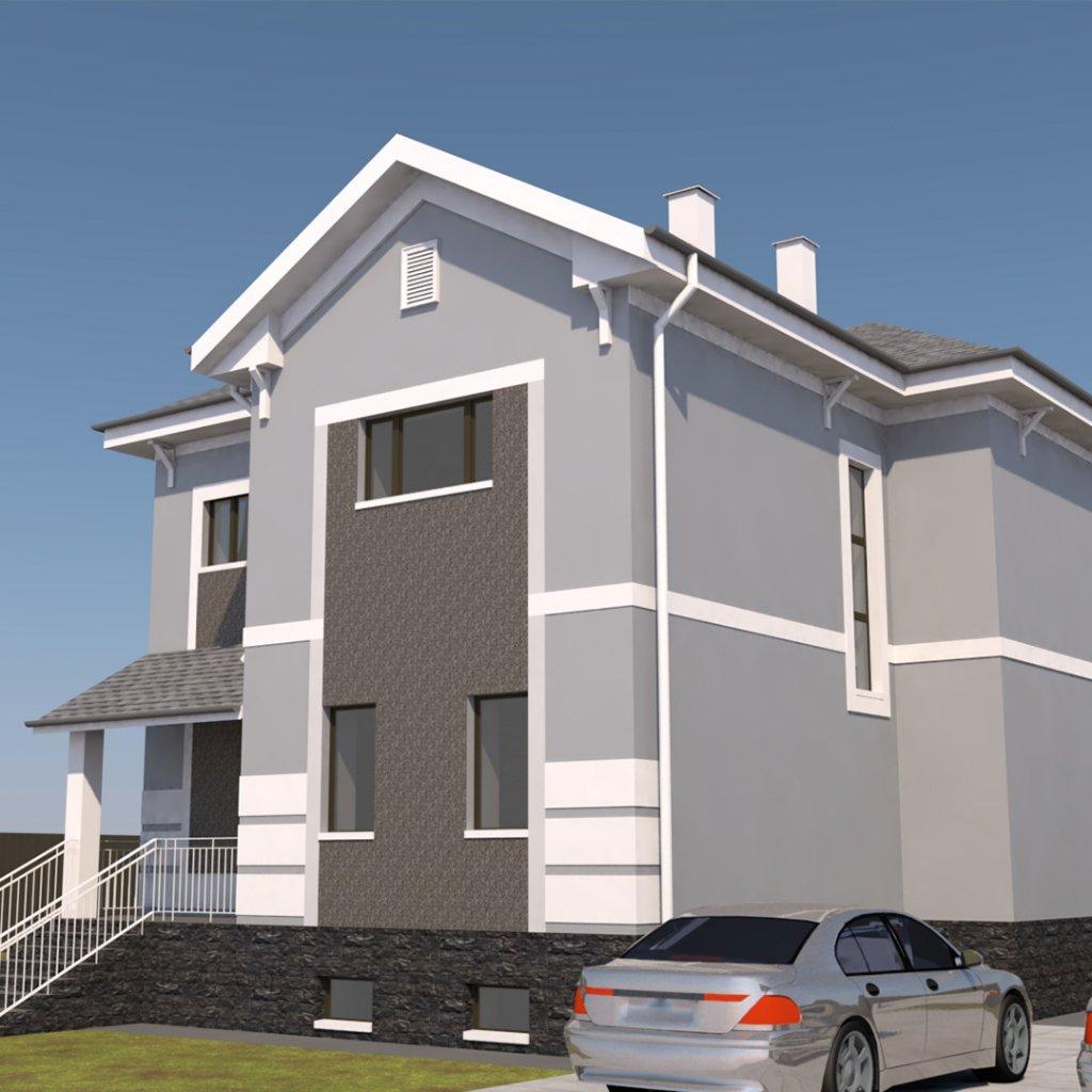 Проект дома Поместье Колесниковых от Веванта