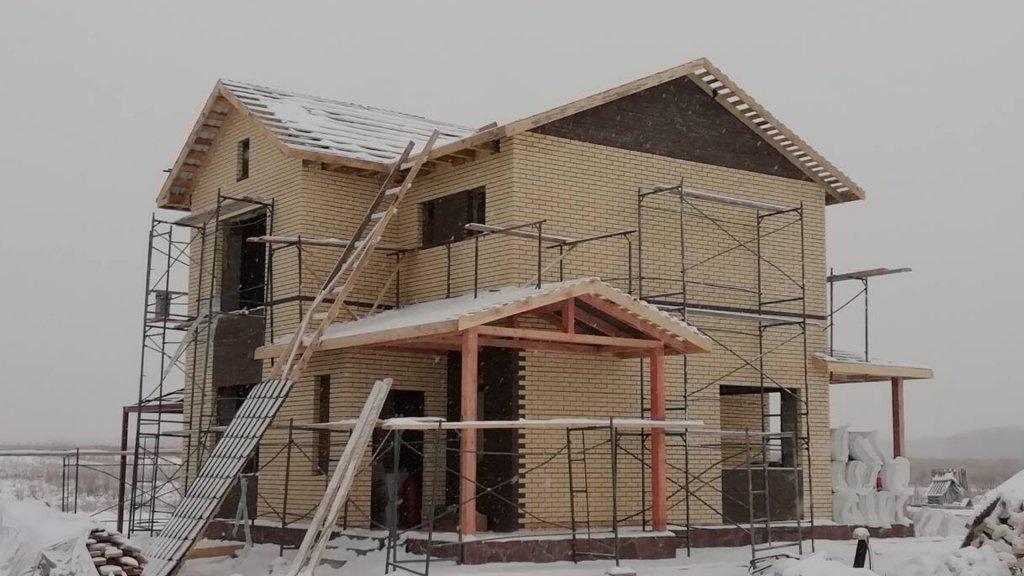 Строительство дома Солнечный