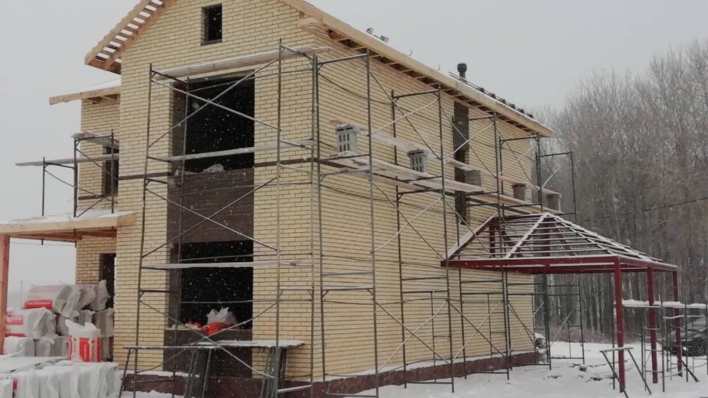 Веванта строит дом