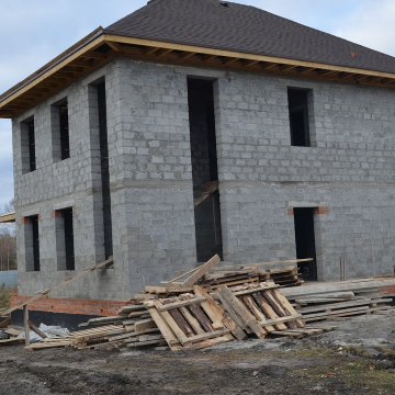 Строительство дома В КП Звенящие кедры