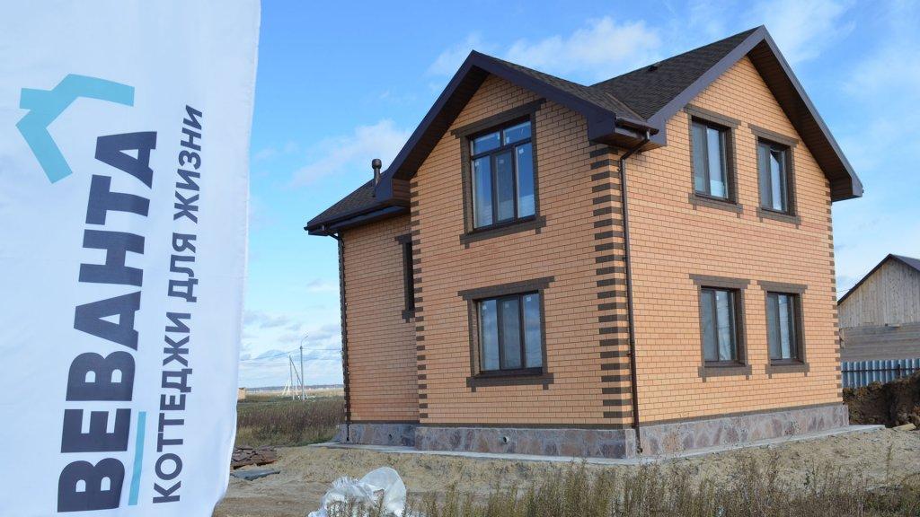 Дом по проекту Анжелика выполнен под ключ