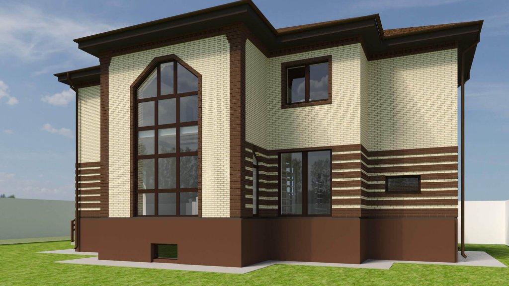 """Проект дома с цокольным этажом """"Виктория"""" от Веванта"""