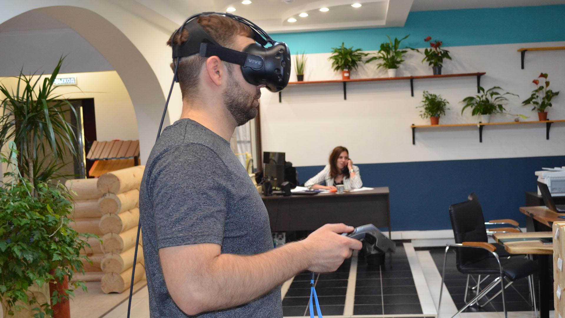 Проект дома в виртуальной реальности