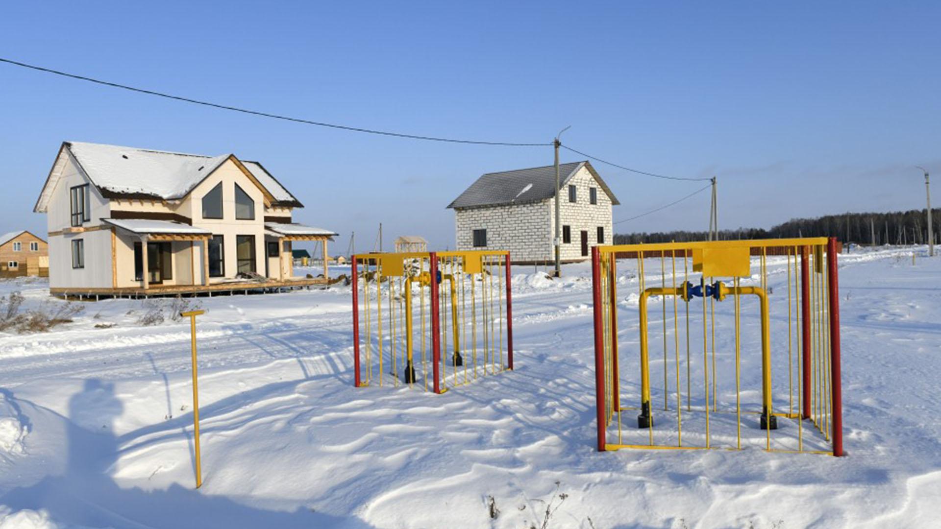 Коттеджный поселок Ушаково газифицирован