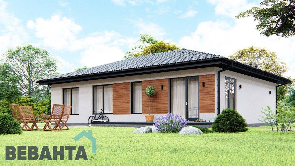 Орхидея проект одноэтажного дома в классическом стиле