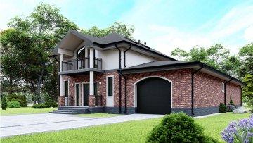 Проект дома Елисейские поля от компании Веванта