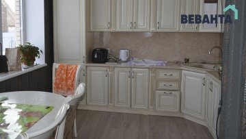 кухня в построенном доме
