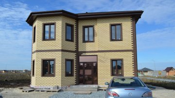 Строительство дома по проекту Тюменка