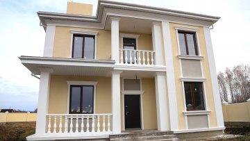 Строительство дома Умеренная роскошь