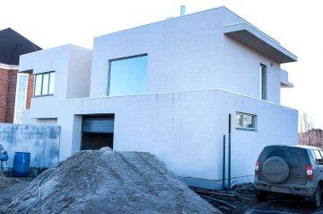 Строительство дома хай-тек