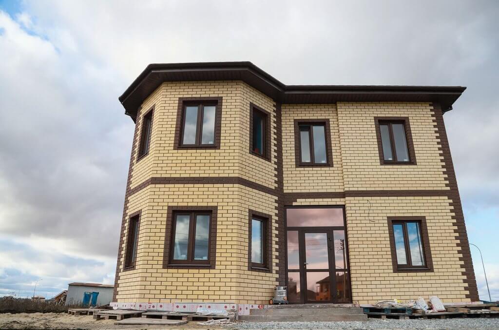 Строительство дома Тюменка