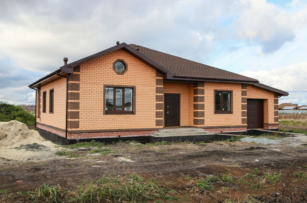 Строительство дома Елена с гаражом