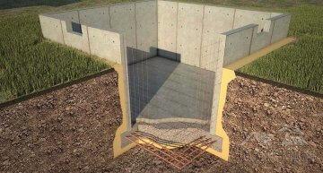 Фундамент для цокольного этажа