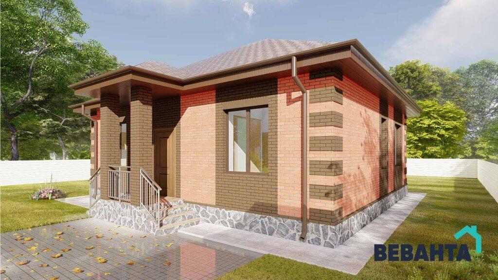 Проект дома Ежевика