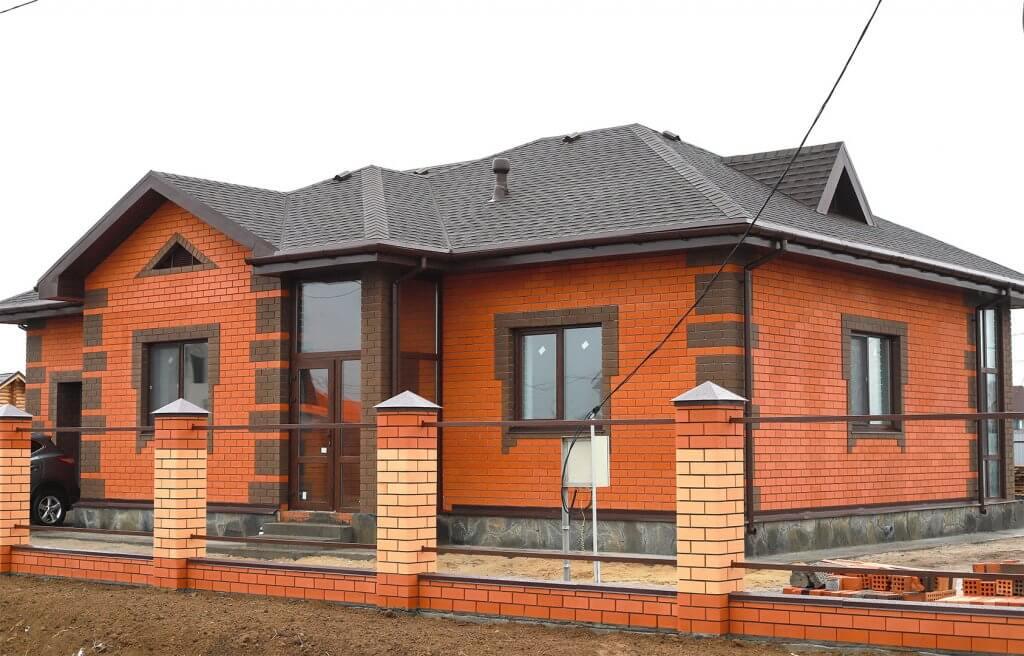 Строительство дома Брусника
