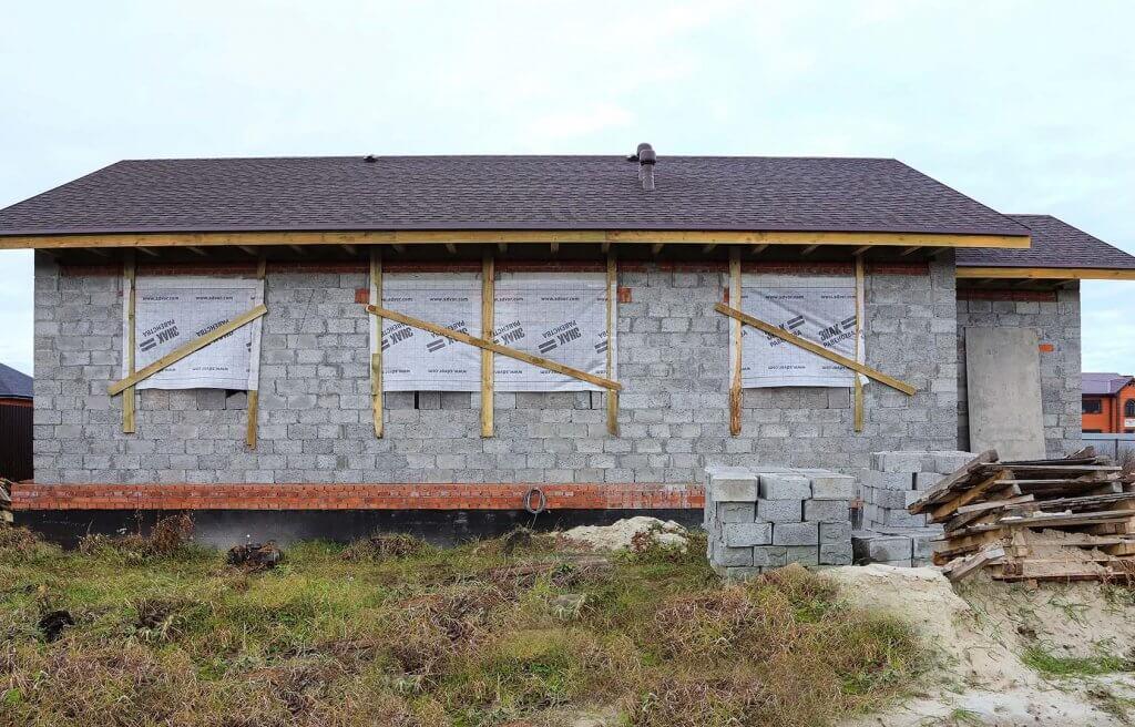 Строительство дома Еремей