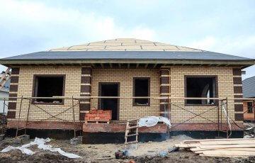 Строительство дома Ольга