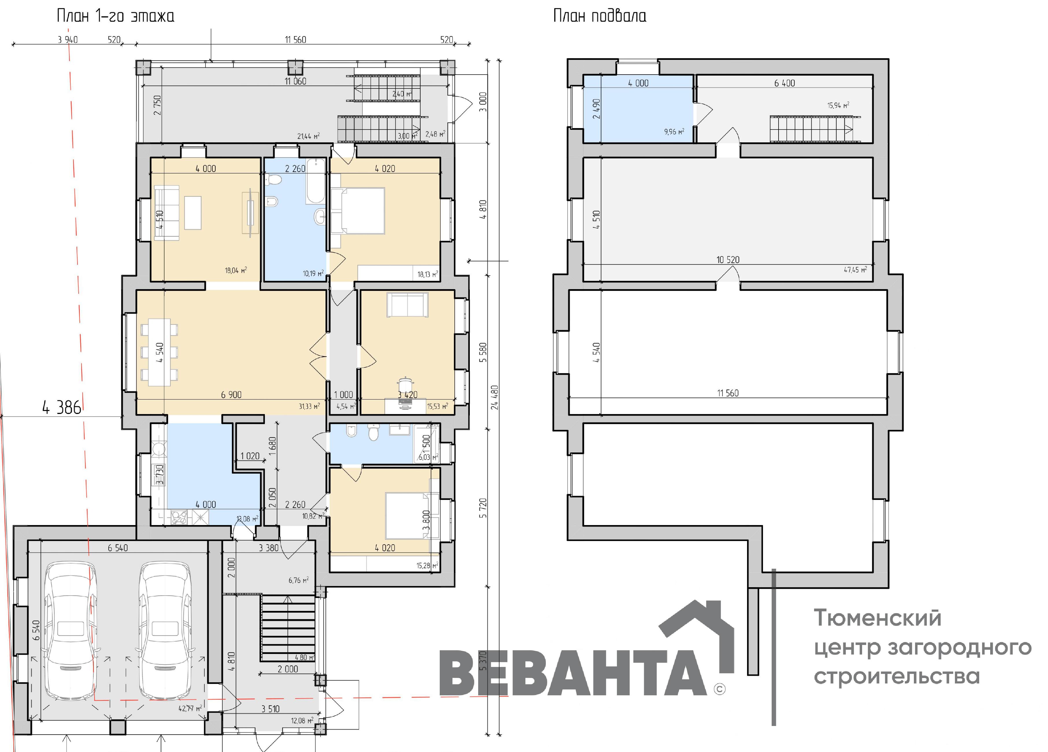 планировка проекта Бенджамин
