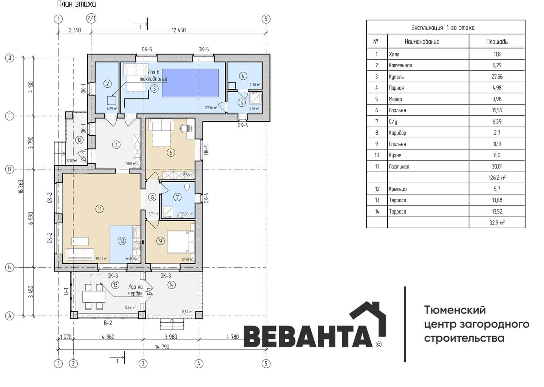 планировка проекта Джонатан